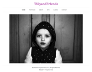 TillyandFriends website